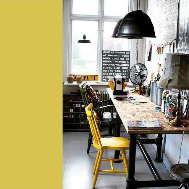Complementi industriali a tinte vivaci blog di for Salotto stile industriale