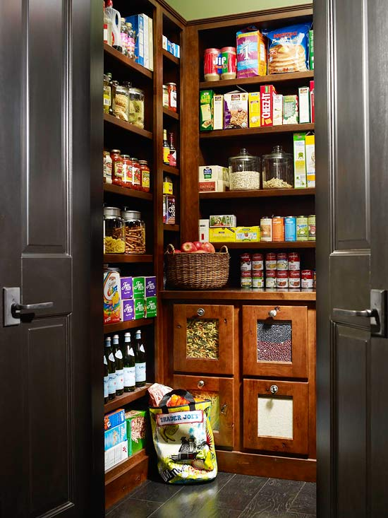 Kitchen pantry design ideas home appliance for Walk in pantry
