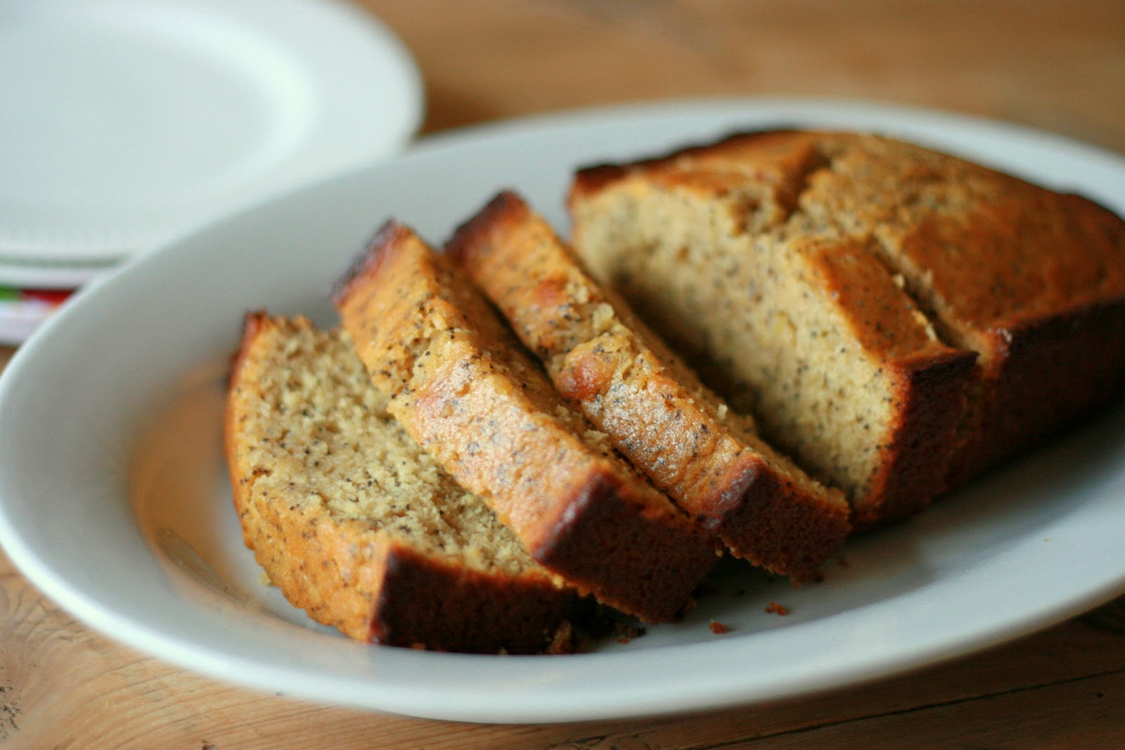 ... Living with Elmo: Poppy Seed Bread with Lemon-Honey Glaze (Dairy-Free