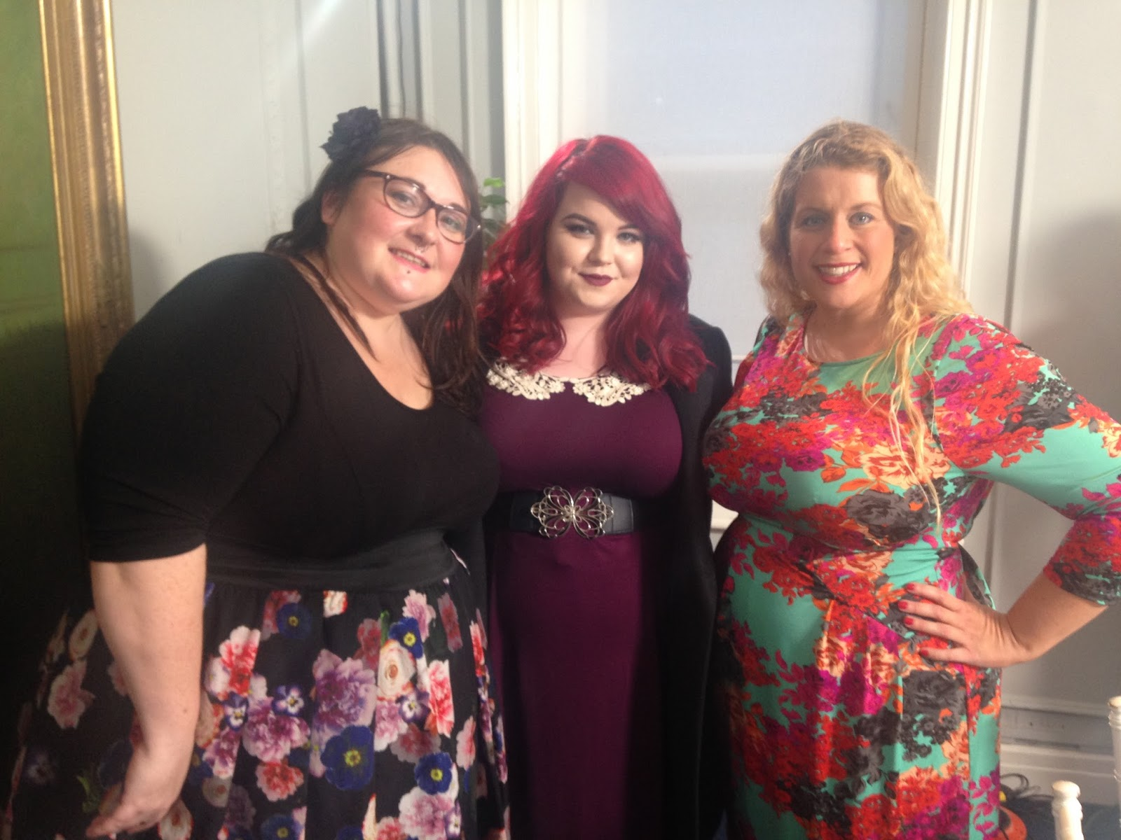 Plus size bloggers, TK Maxx focus group, justmeleah, curvywordy, shemightbeloved