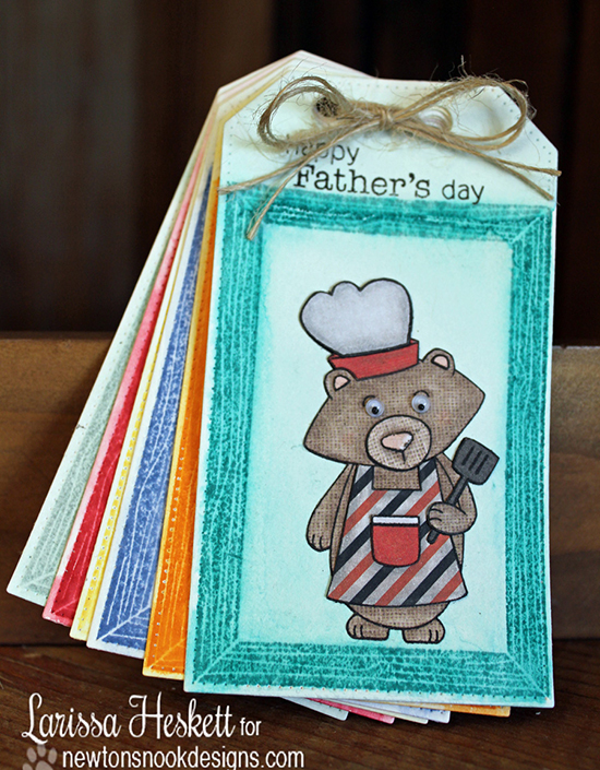 Grilling Bear Father's Day Coupon Book by Larissa Heskett | Winston's BBQ | Newton's Nook Designs