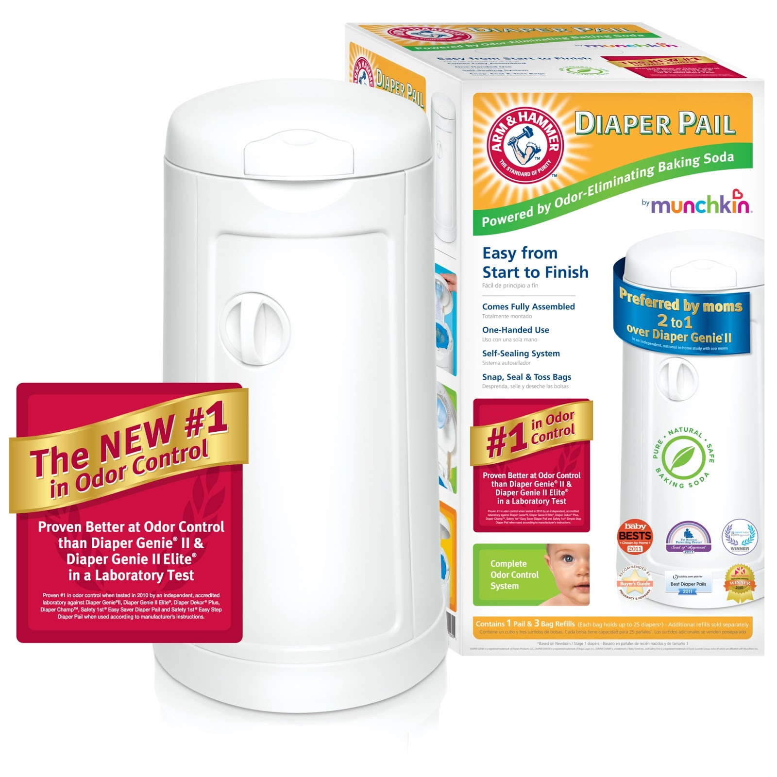 Mommy Katie: #Giveaway Arm & Hammer Diaper Pail by Munchkin CLOSED!!