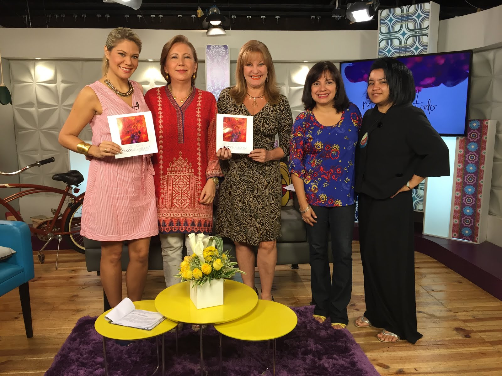 """Entrevista Globovision programa """"Mujeres con todo."""