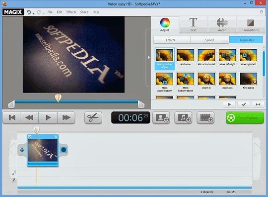برنامج MAGIX Video easy HD