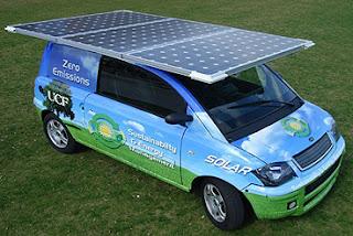 Mobil Tenaga Surya (Solar Cell)