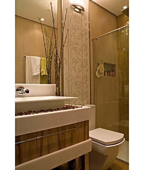 decoracao banheiro bege – Doitricom -> Banheiro Branco Com Pastilhas Bege