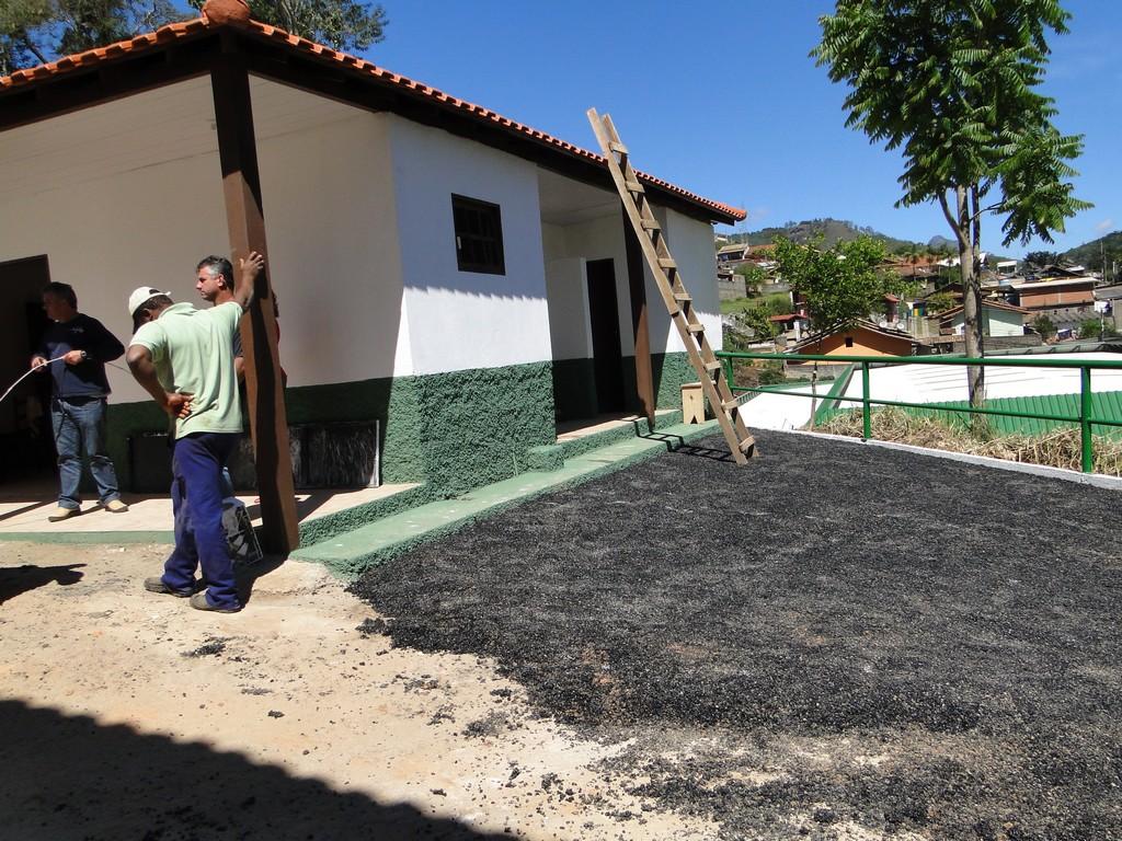 Capela mortuária de Bonsucesso em Teresópolis totalmente reconstruída