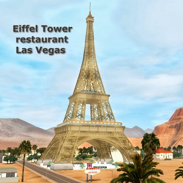 Simming In Magnificent Style Eiffel Tower Restaurant Las Vegas
