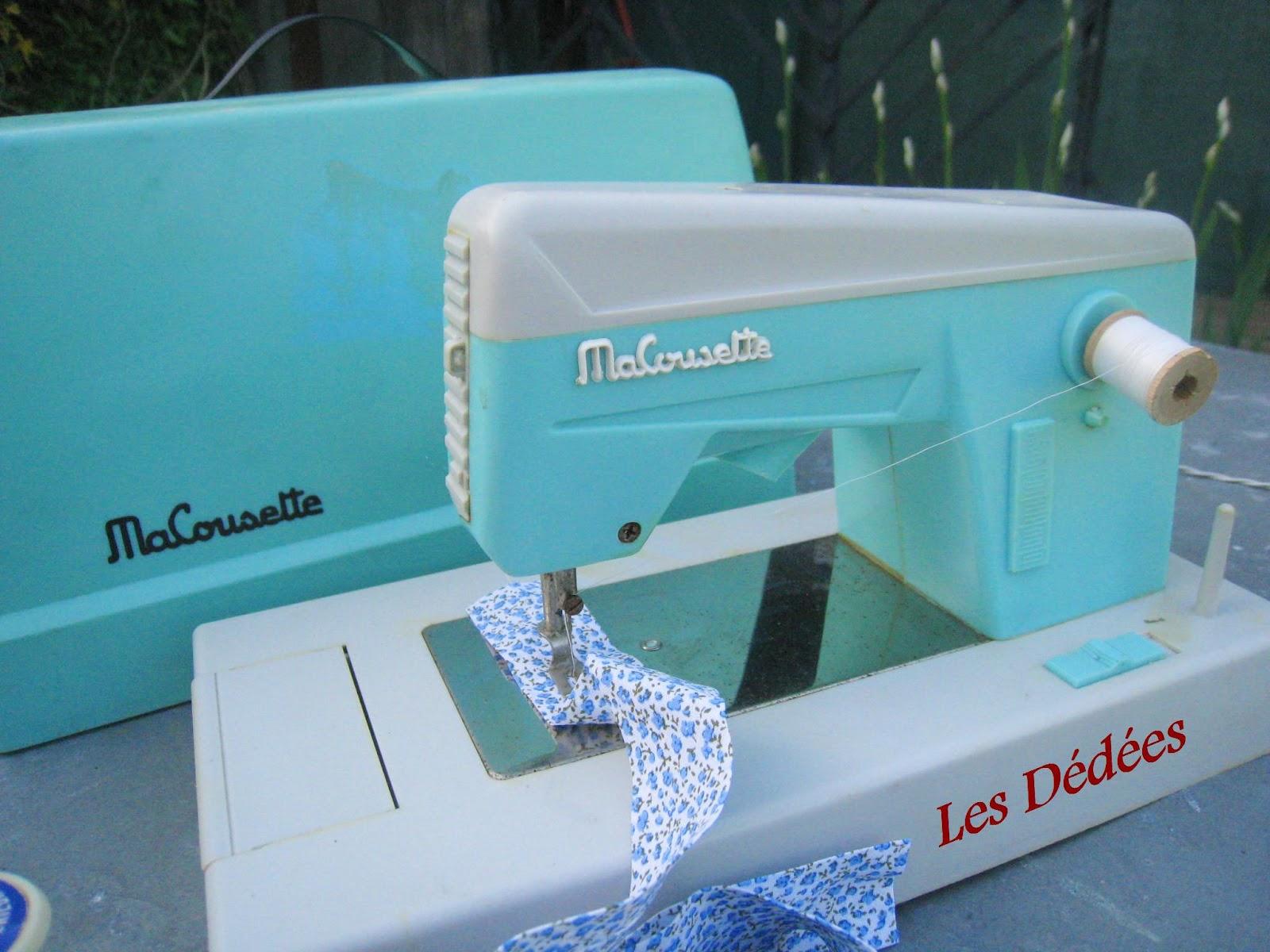 Les dedees vintage recup creations jouet pour faire for Machine a coudre king jouet