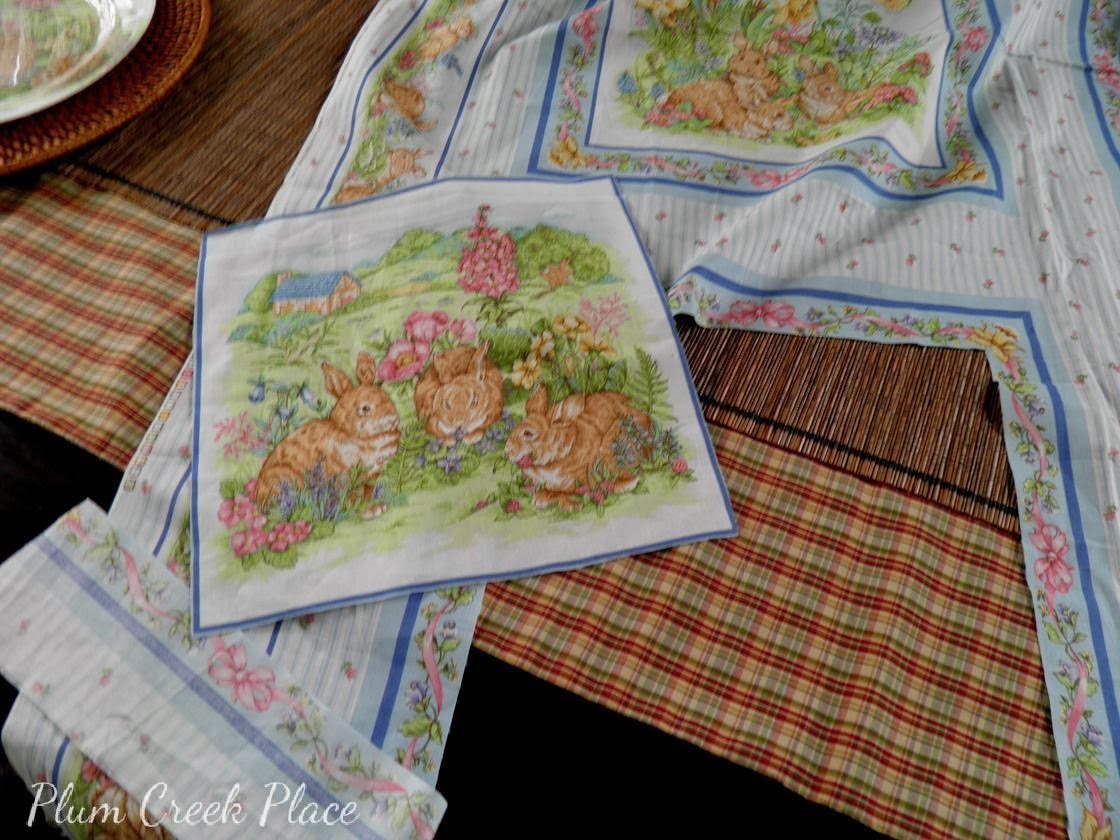 Tutorial to make decoupaged Easter plates