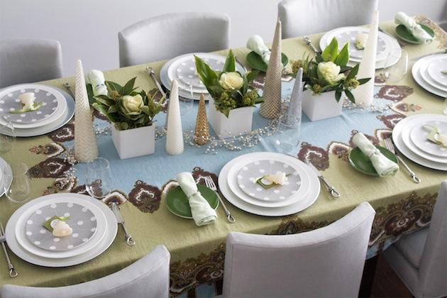 decoradas para una cena navidea que esperemos te ayude a encontrar alguna buena idea para vestir tu mesa estas fiestas venga chale una miradita que