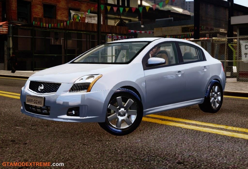 Baixar carro Nissan Sentra S 2008 Para GTA IV