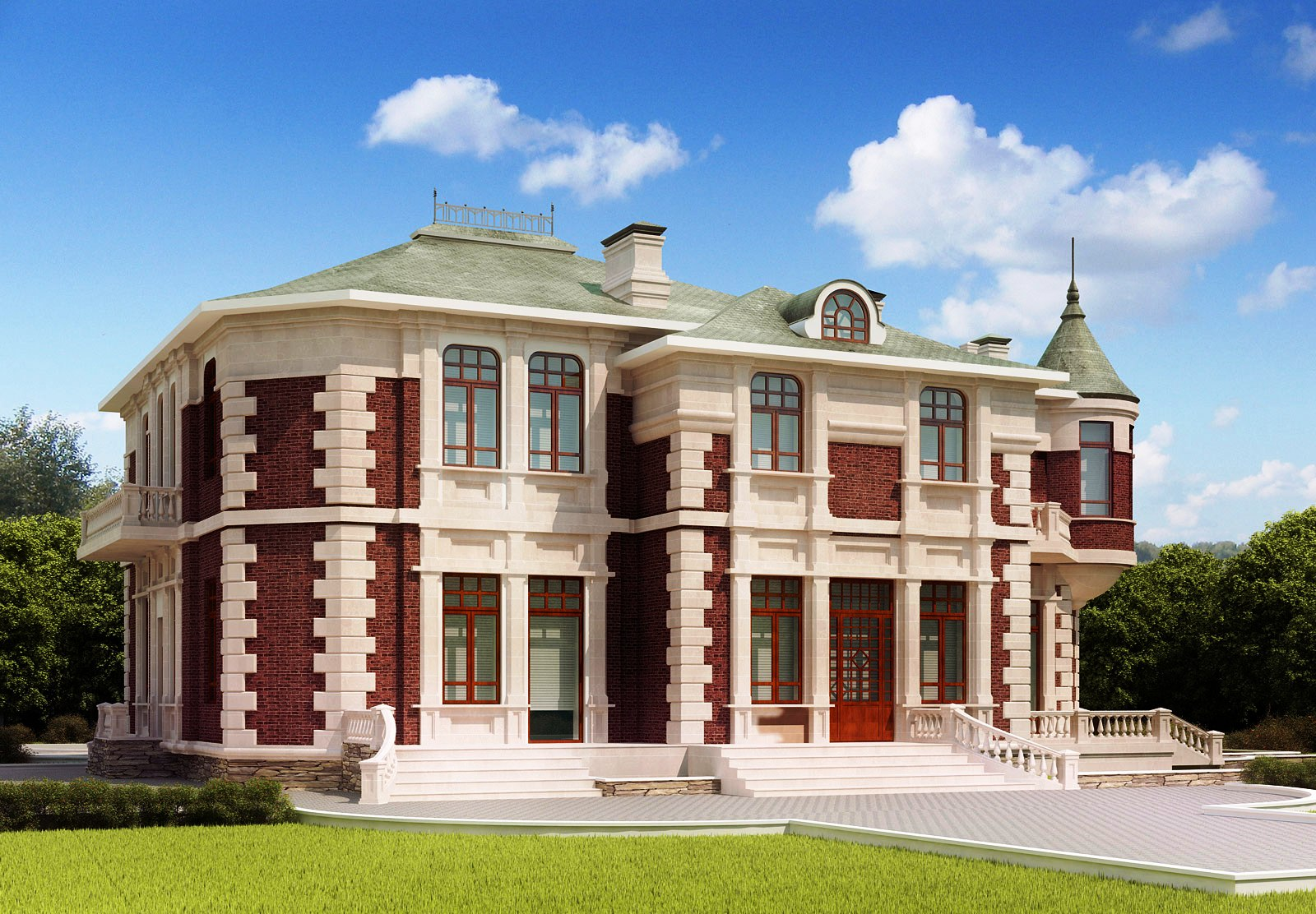Country Home Designs 3D Design Collection How to Design a House