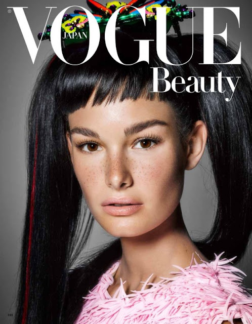 Fashion Model @ Ophelie Guillermand by Kenneth Willardt for Vogue Japan, September 2015
