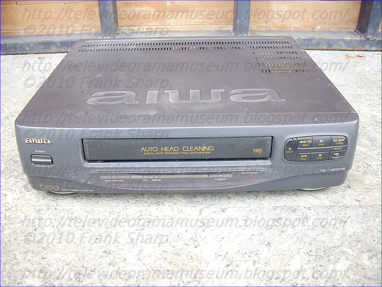 Tele Video Rama Museum !: AIWA HV-C100KE1 YEAR 1998.