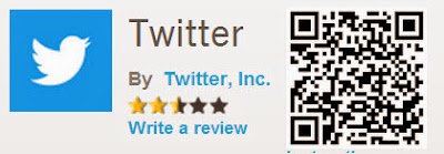 QR Code Twitter for BlackBerry