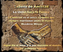 CADENA DE AMISTAD