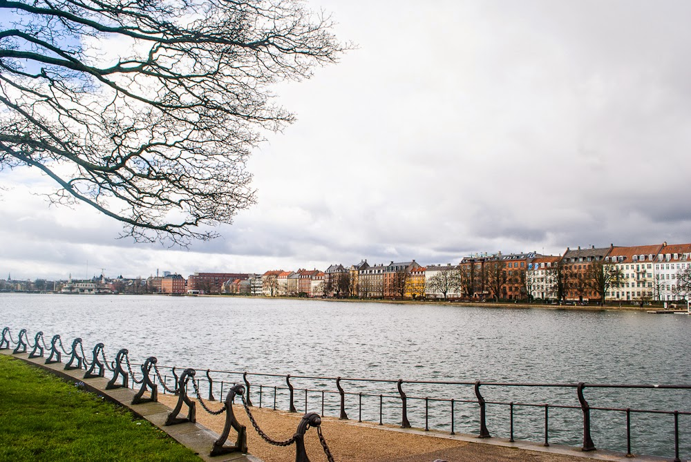 Copenhagen Lake soerne pathway