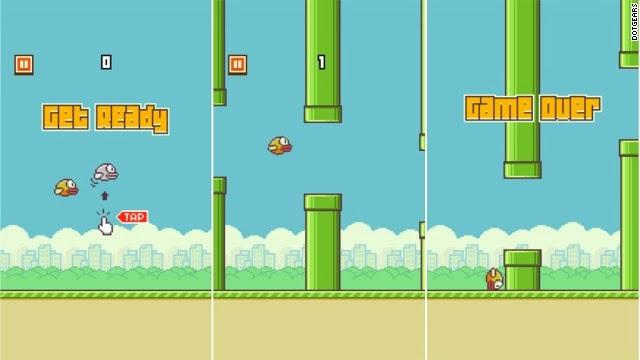 Dowload game flappy Bird miễn phí cho điện thoại thông minh