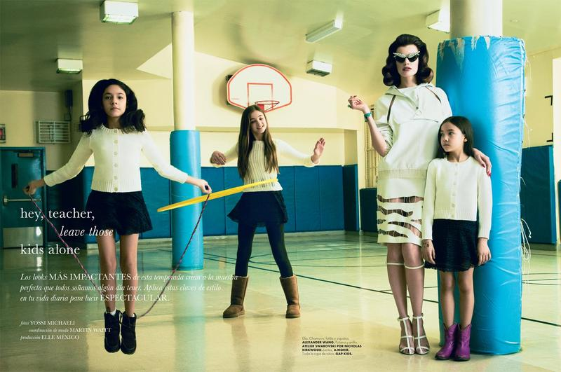 Elle Mexico April 2013 issue