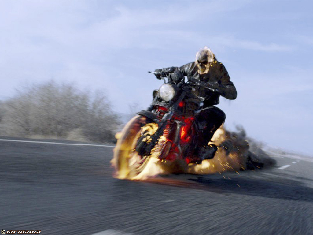 Free HD Wallpapers Ghost Rider 2 Wallpapers Collection