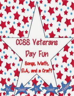 http://www.teacherspayteachers.com/Product/Veterans-Day-Fun-CCSS-Activities-403322
