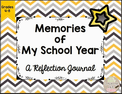 https://www.teacherspayteachers.com/Product/Memories-of-My-School-Year-NO-PREP-End-of-Year-Student-Reflection-Journal-1136893