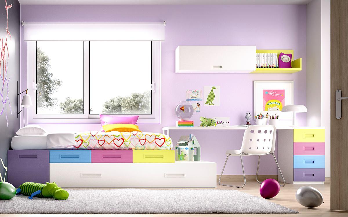 Home decor 15 pink kids rooms furniture for Pink kids room