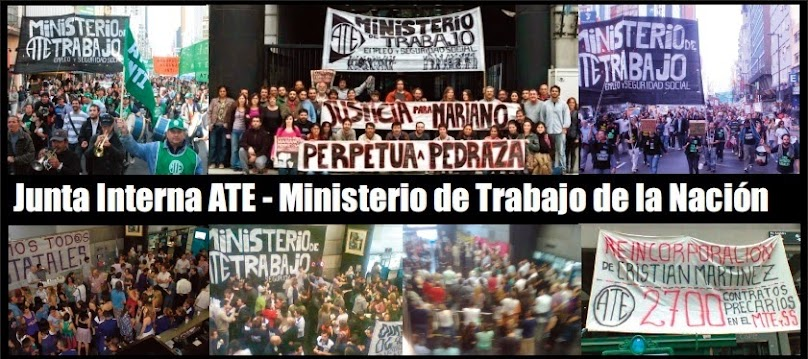 ATE - Ministerio de Trabajo de la Nación