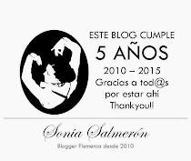 GRACIAS!! ¡¡5 años de blog!!