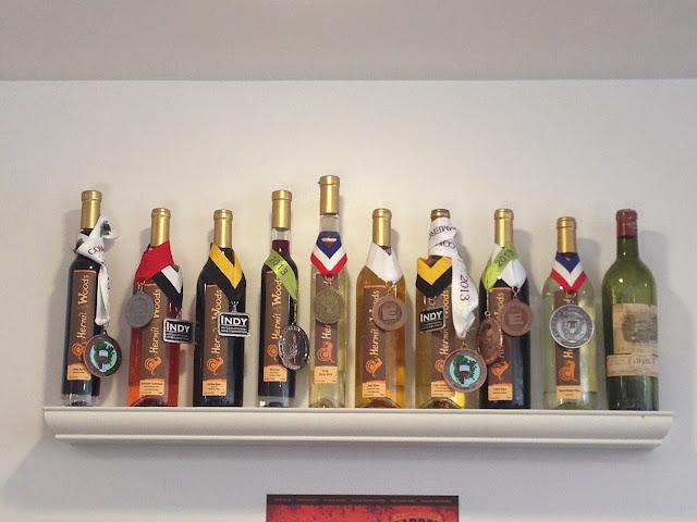 fruit wines of Hermit Woods