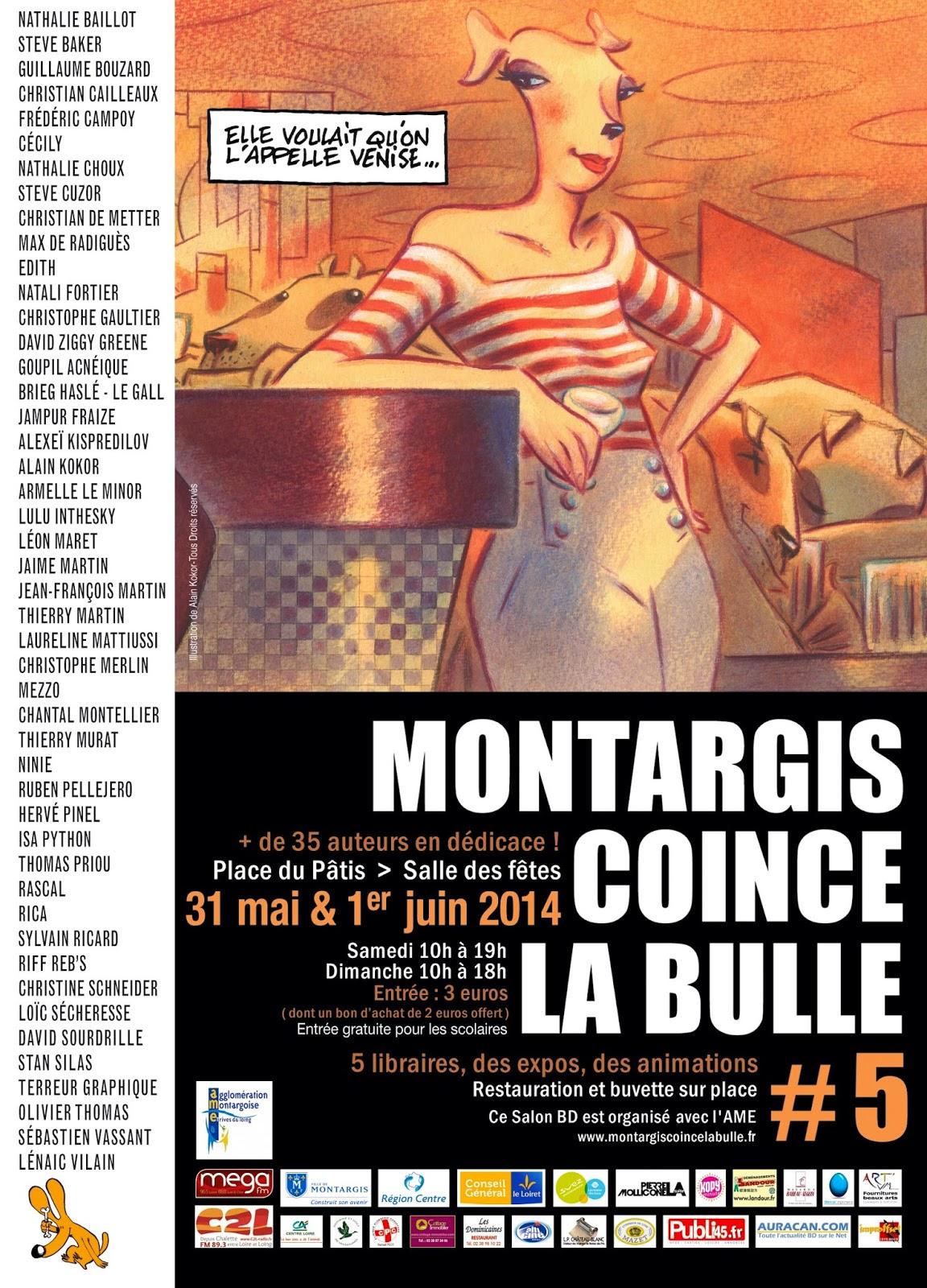 Festival BD de Montargis : + d'infos