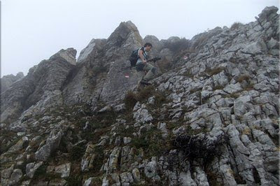 Último tramo antes de la cima