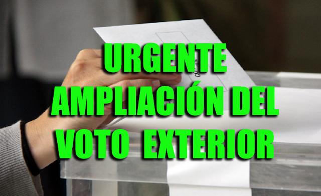 La Junta Electoral Central amplía el plazo para votar en los Consulados.