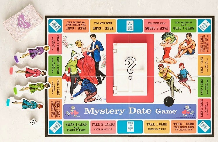 A Vintage Nerd, Vintage Blog, Christmas Gift Guide, Mystery Date Game