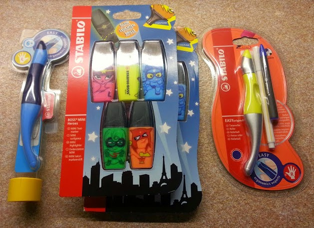 Stabilo early writing materials for children - EasyOriginal pen review