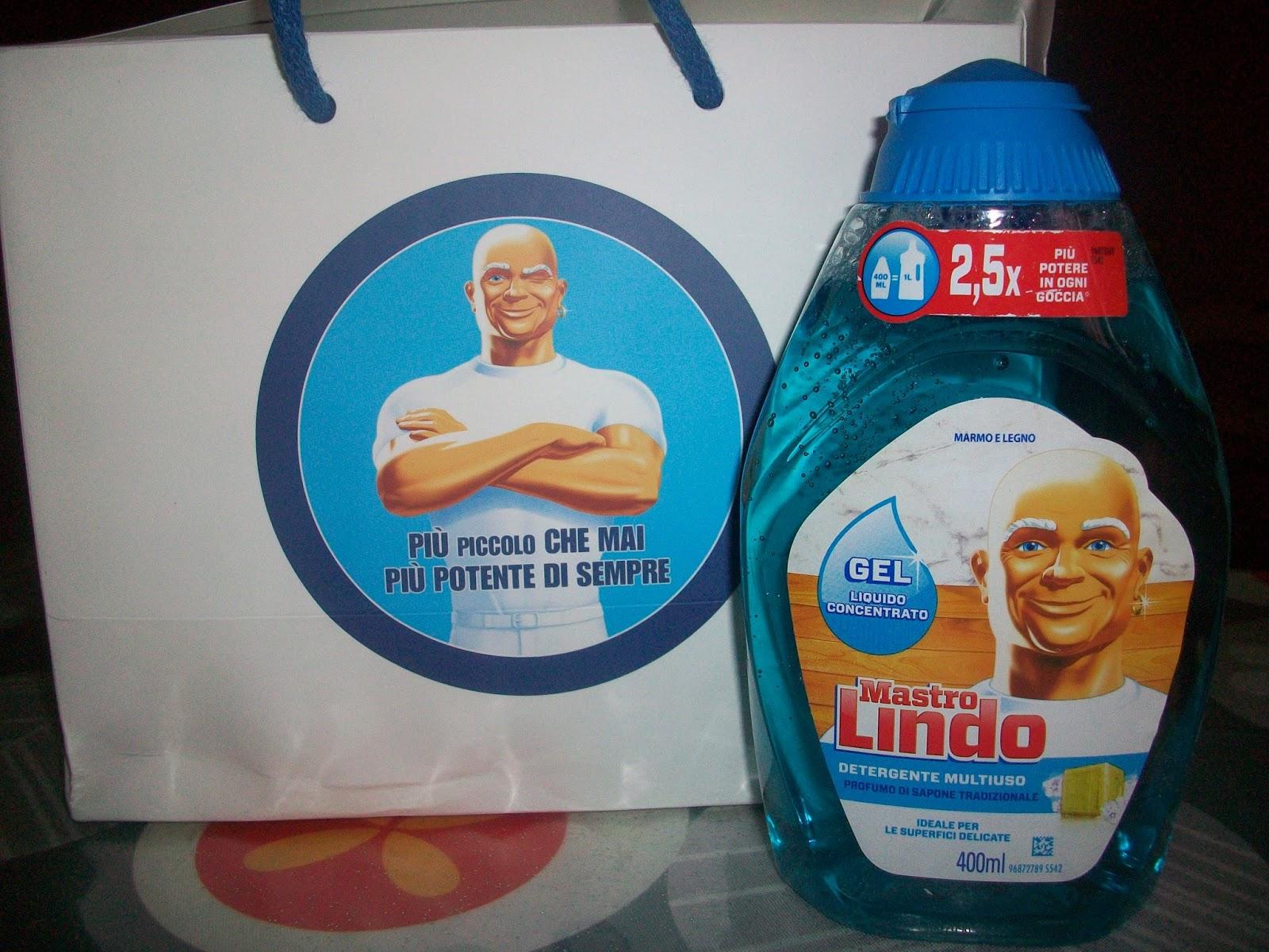 Mastro lindo gel il detergente concentrato per tutta la casa
