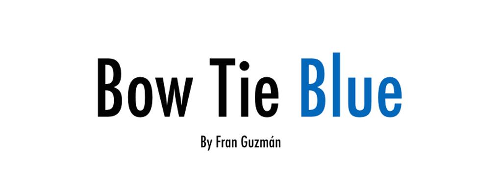Bow Tie Blue / Blog de Moda Masculina