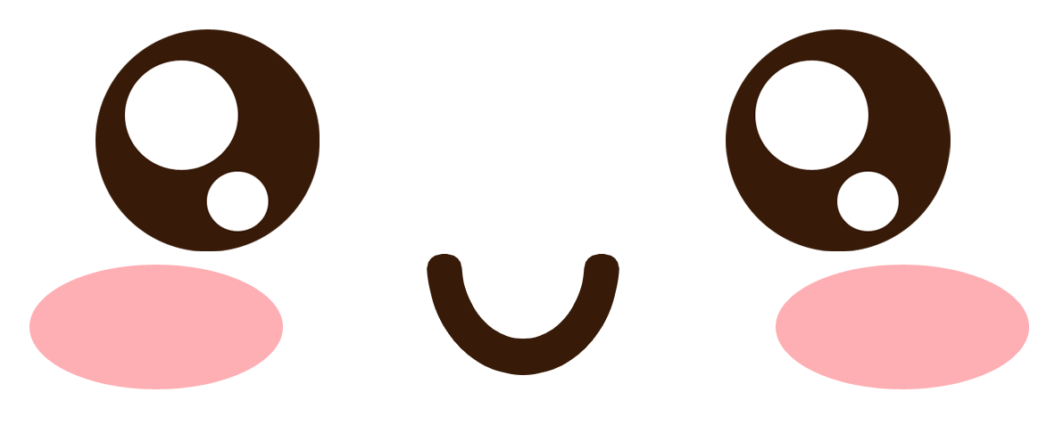 Kawaii Cat Eye Clipart
