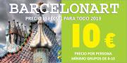 ¡¡RUTAS A PIE POR BARCELONA A 10 €!!