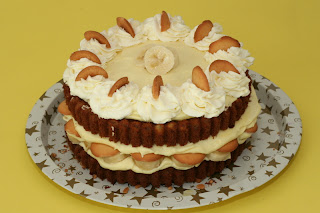 Banana Pudding Cake Picture