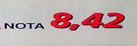 puntaje renault megane 2 1.6