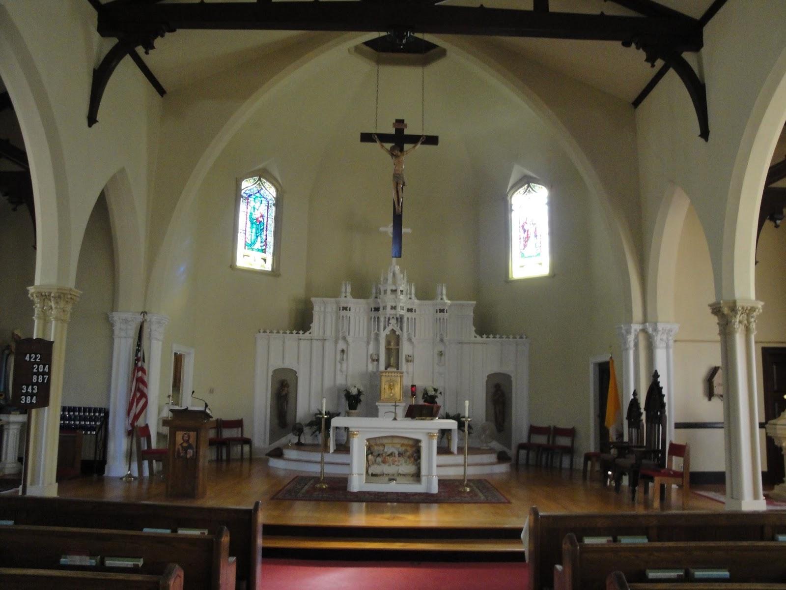 150 churches: church #71 - our lady of good help, burrillville