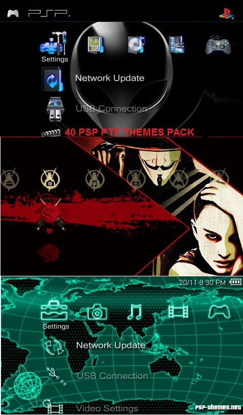 How to Download and Install Themes on the PSP: 11 Steps