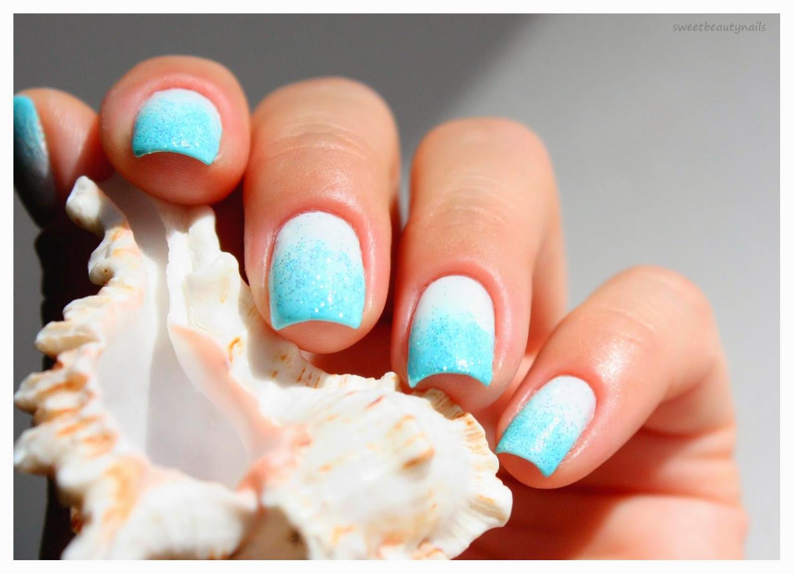 Мятные ногти