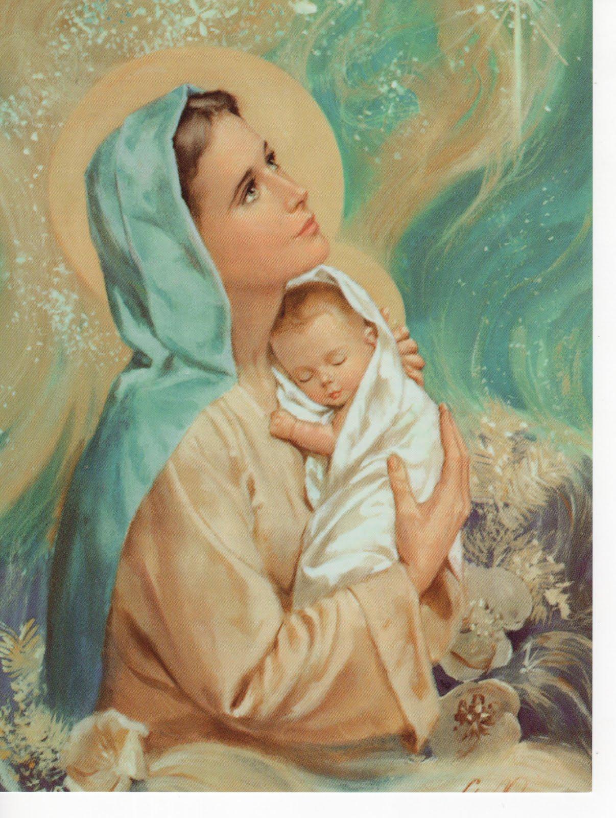 Benedicta tu in mulieribus