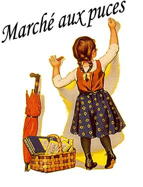 Mademoiselle sandrillana des petites puces tr s solidaires - Marche au puce paris vetement ...