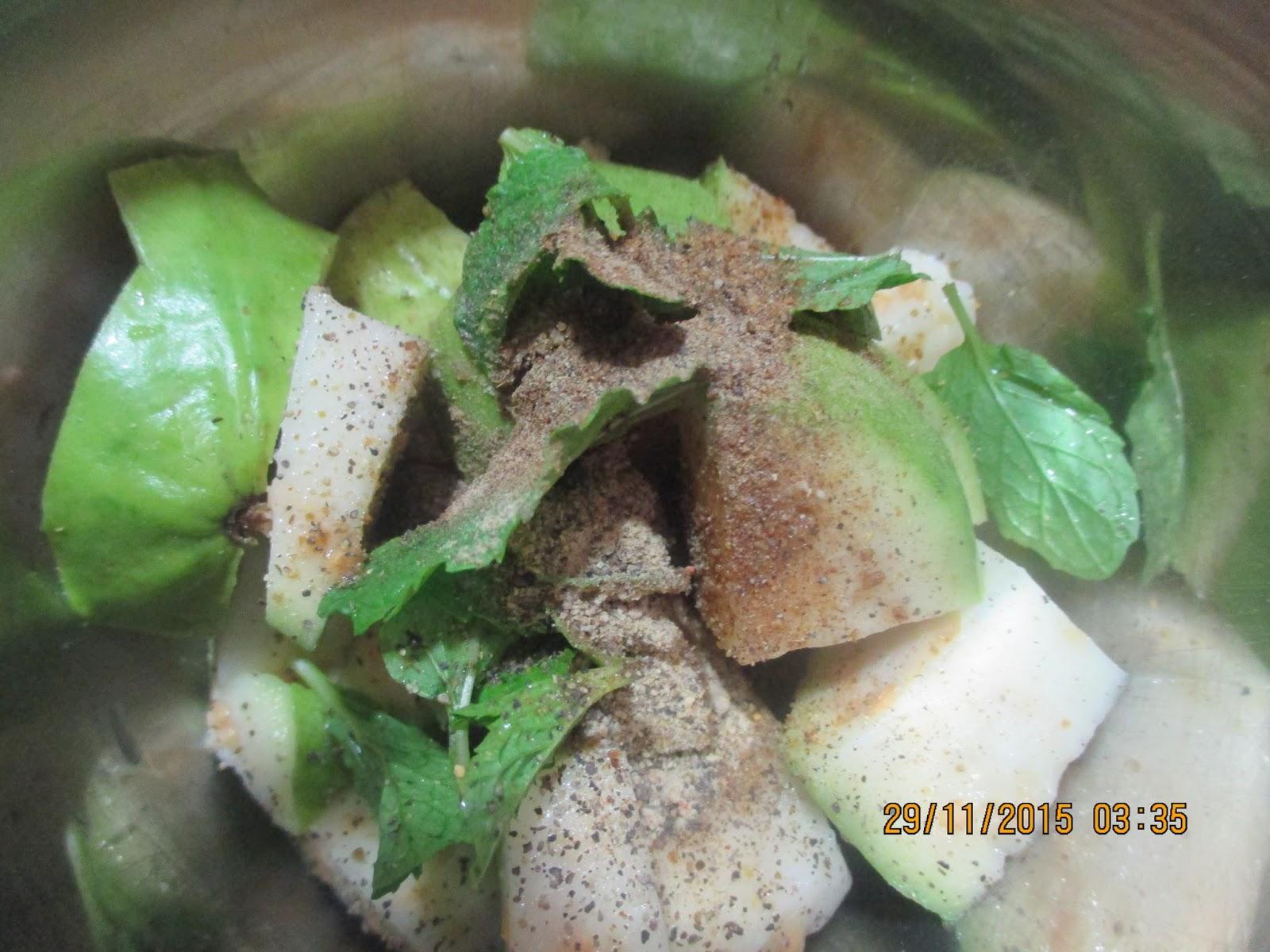 how to make sherbet powder with raro