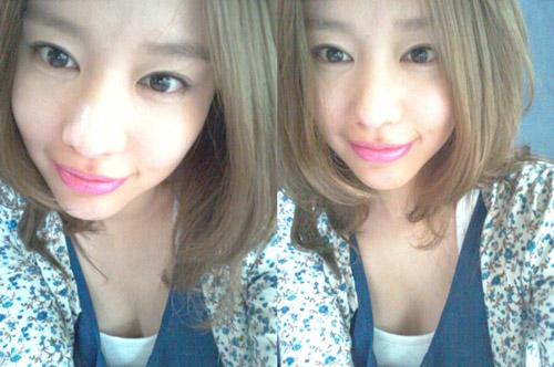 Kim ah Joong Selca Kim ah Joong Comforted Her