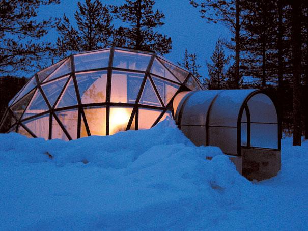 الفندق و المنتجع الزجاجي في فنلندا ، إستمتع بنظرة فريدة للشفق القطبي 4.jpg